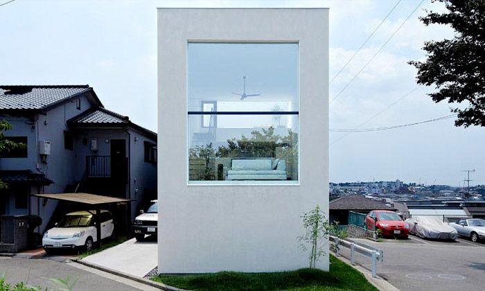 Minimalistický dům v Hiyoshi má otevřený interiér
