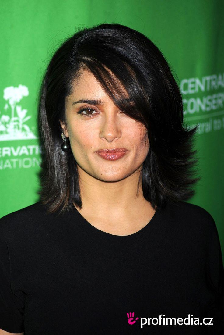 salma hayek haircut | Prom hairstyle - Salma Hayek - Salma Hayek