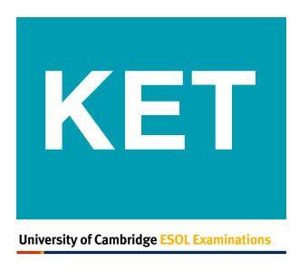 KET Exam vocabulary list (.pdf)