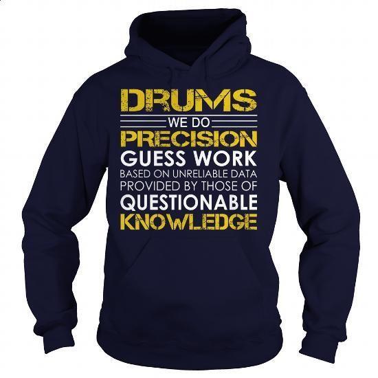 Drums - Job Title - #cool hoodies for men #long hoodie. ORDER NOW => https://www.sunfrog.com/Jobs/Drums--Job-Title-Navy-Blue-Hoodie.html?60505