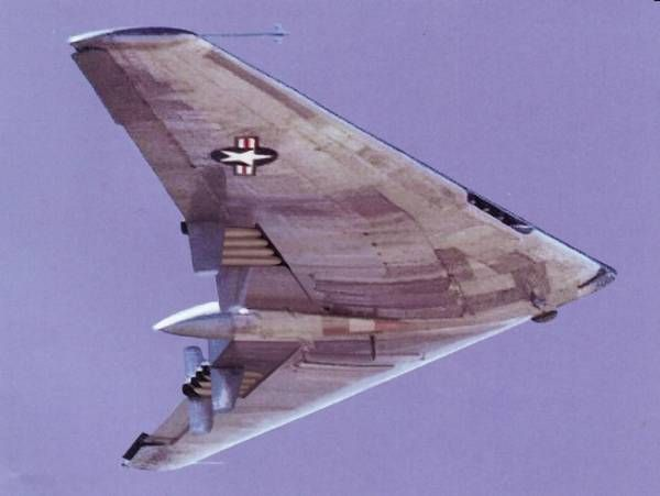Northrop YB-49: Flying Wing precursor to the Stealth Bomber (B-2 Spirit)