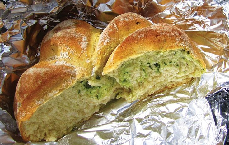 Anna Hedworth's wild garlic damper bread - perfect for a spring picnic! Follow link for full recipe from appetite, North East England's dedicated food & drink publication.