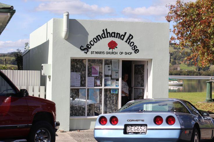 Second Hand Rose Op Shop in Kohukohu