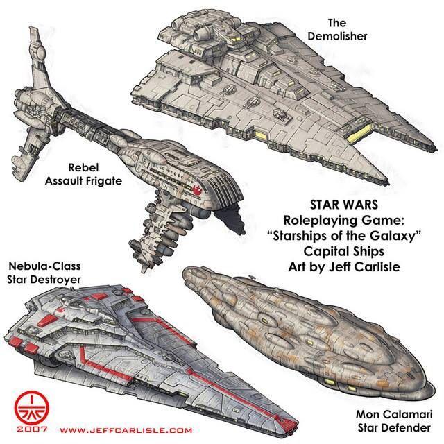 Capital ships