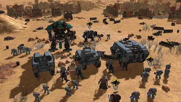 Warhammer 40,000 Sanctus Reach PC es un juego táctico de guerra y estrategia sólida que será de interés para un amplio espectro de personas.