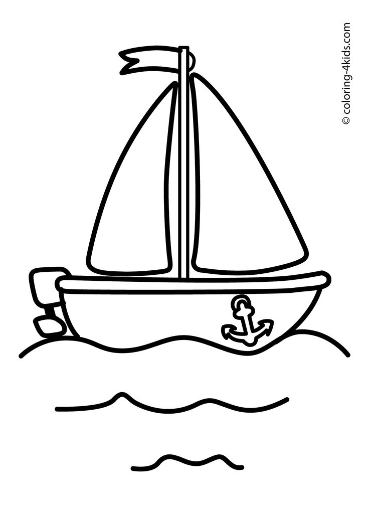 transportation coloring pages for kids - photo#21