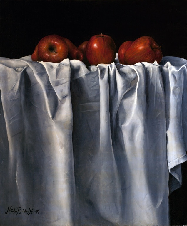 Red Apples by Natalie Rudebo Hörnqvist