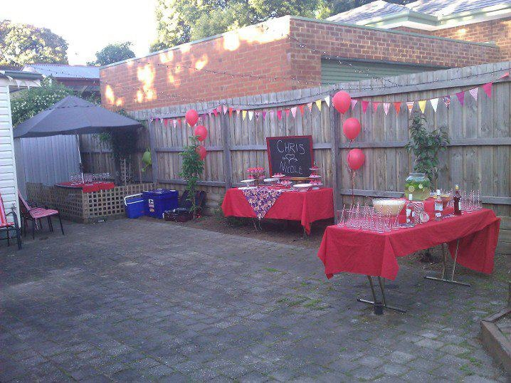 party pinterest backyards parties and backyard engagement parties