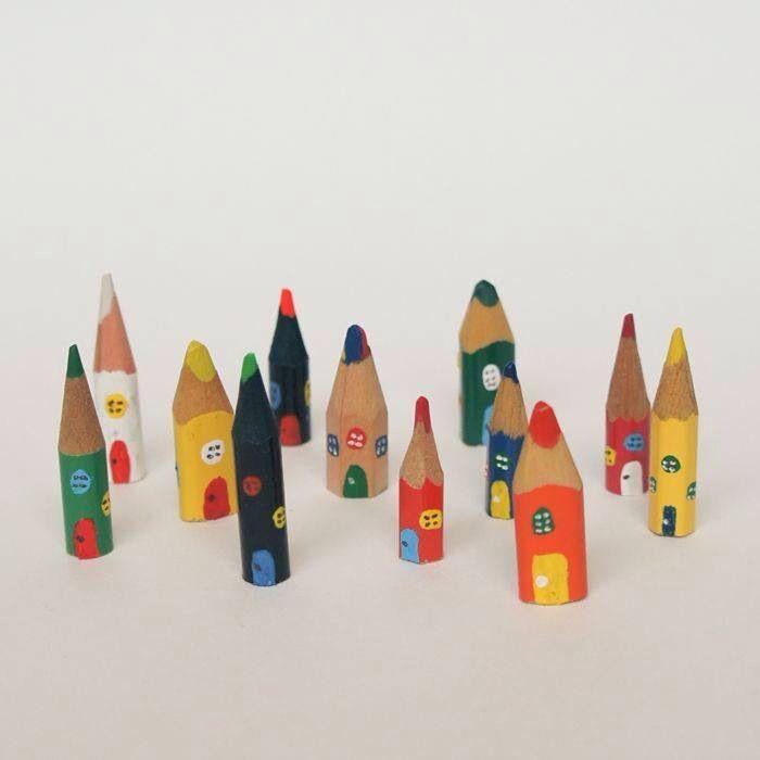 Fantastiche case di matita!