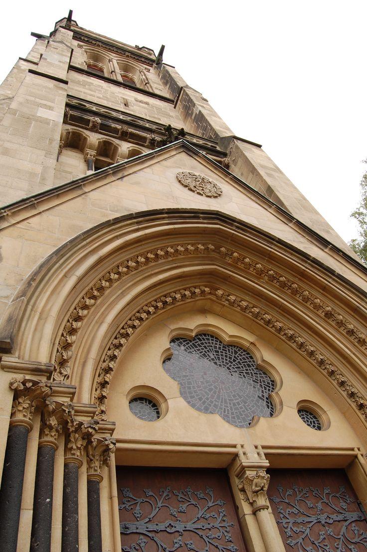 Stadt Detmold Detail an der Christus Kirche
