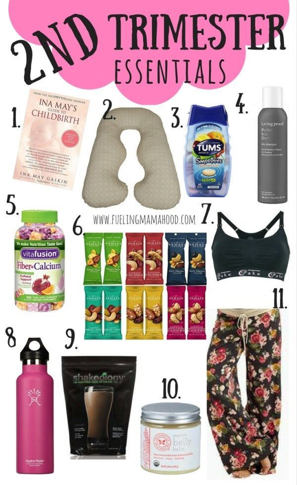 2nd trimester essentials   Pregnancy must-haves   Mama must-haves