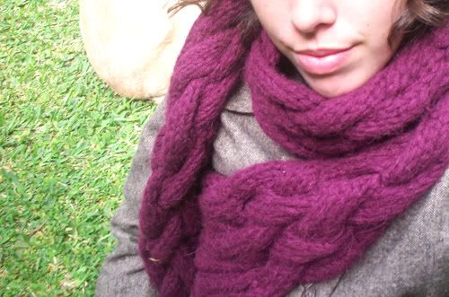 Knitting Pattern Braided Scarf : Pin by Holly Powell on knit and crochet Pinterest