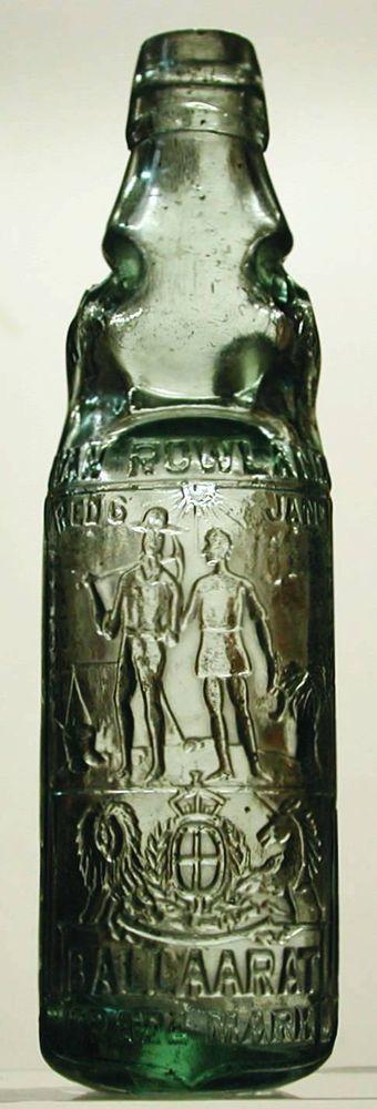Ballarat Melbourne - Antique Victorian Glass Codd Marble Bottle | eBay