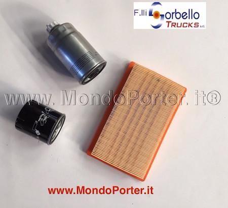 kit tagliando Piaggio Porter Diesel - Mondo Porter