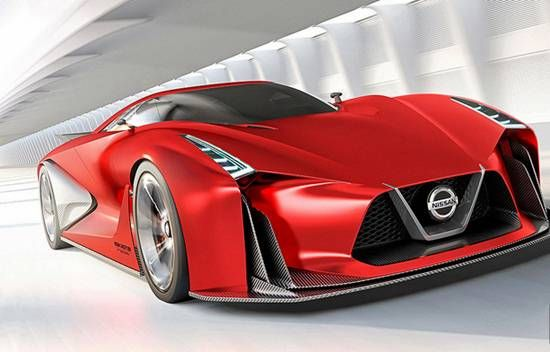 2017 Nissan GT-R R36 Hybrid Concept