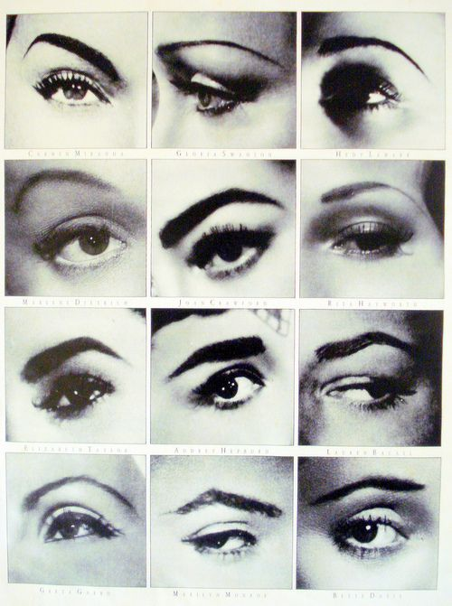 famous browsMakeup Tools, Style, Moviestars, The Face, Beautiful, Eyebrows Shape, Movie Stars, Joan Crawford, Hair