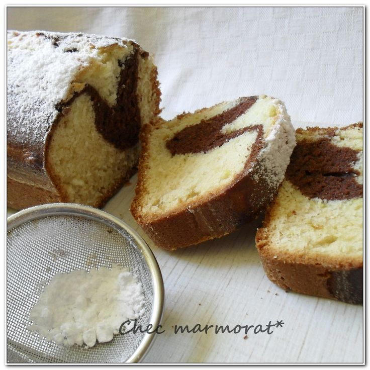 Chec marmorat recipe
