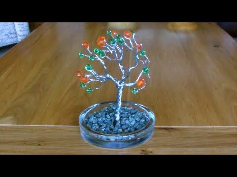 Make one of these amazing wire tree sculptures using wire and beads. Really decorative! Facebook- http://www.facebook.com/mist8kspage Twitter- https://twitte...