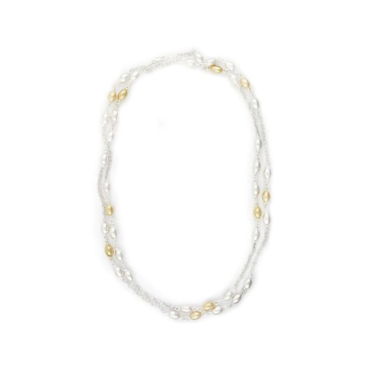 Gurhan 24K Gold and Sterling Silver Necklace – Seattle Jewelry | Fox's Seattle