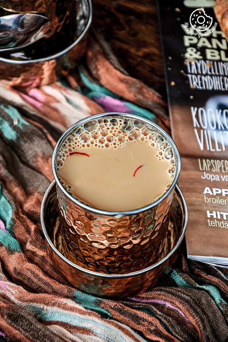 Spiced Kesar Chai | Spiced Saffron Tea!