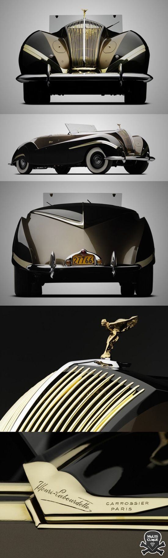 "1939 Rolls-Royce Phantom III ""Vutotal"" Cabriolet by Labourdette Whether"