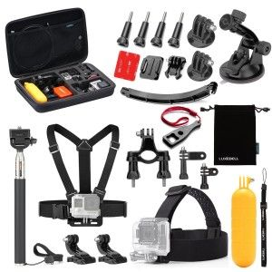 10.Top 10 Best Accessories Starter Kit for Gopro Reviews in 2016