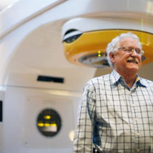 Eugene King is the first person in Tallahassee to try a new radiation treatment for trigeminal neuralgia available at TMH