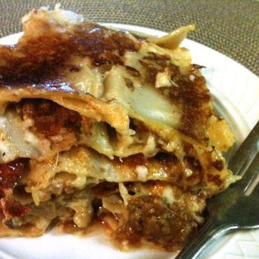 Rice Cooker Lasagna via @AromaHousewares