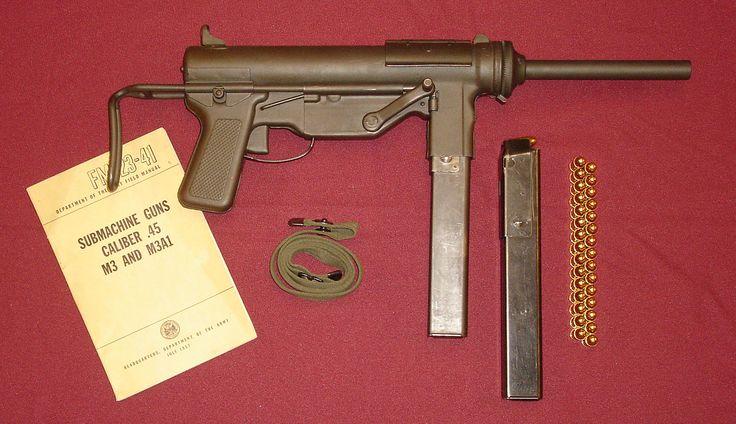 M3 submachine gun - Wikipedia, the free encyclopedia