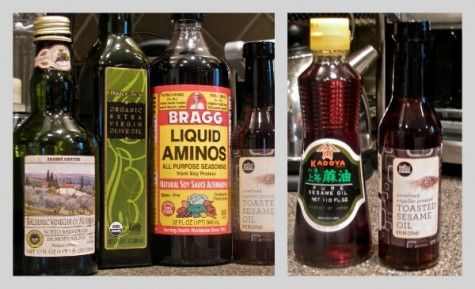 Recipe: How to make fast and easy healthy salad dressing with Bragg's amino acids--betty ming liu
