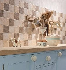 Kitchen Tiles Beige