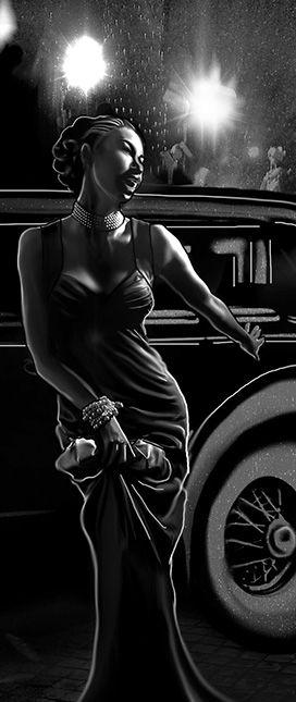 Artist :: Leah Huete Evil Hat's Strange Tales of The Century