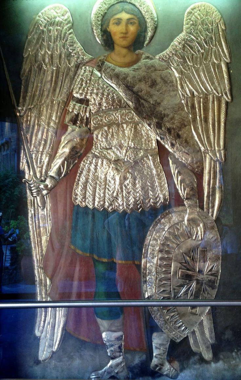 Η εξωτερική ολόσωμη εικόνα του Αρχαγγέλου Μιχαήλη οποία εξαφανίστηκε το 1964 Ή ανέλπιστη σωτηρία Στα 1963, το πρωινό εκείνο ...