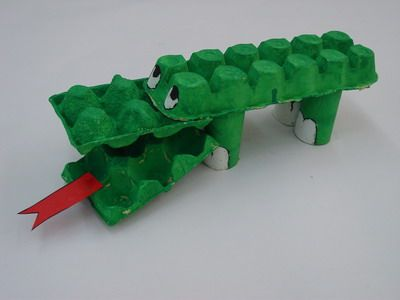 Cardboard Crocodile