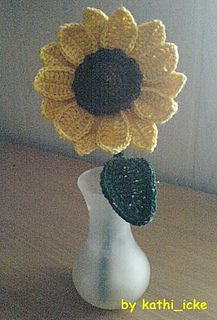 Awesome sunflower to decorate with... FREE PATTERN!!