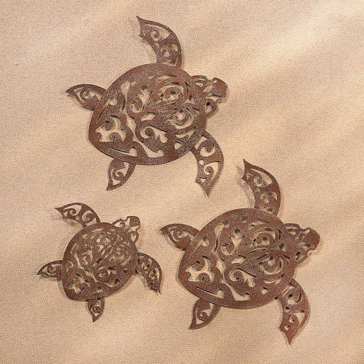 Laser Cut Tribal Turtle Wall D 233 Cor Orientaltrading Com