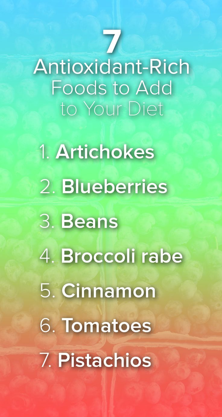Food like blueberries, beans, artichokes and cinnamon are high in antioxidants. Try adding more of these foods to your diet for added health benefits.