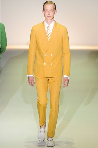 Did I say yellow is gonna be the color of the season spring/summer 2013? #GUCCI