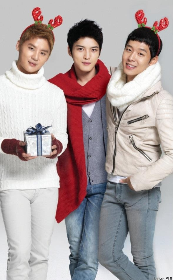 JYJ Already in the Christmas Spirit! Love the reindeer ears!!