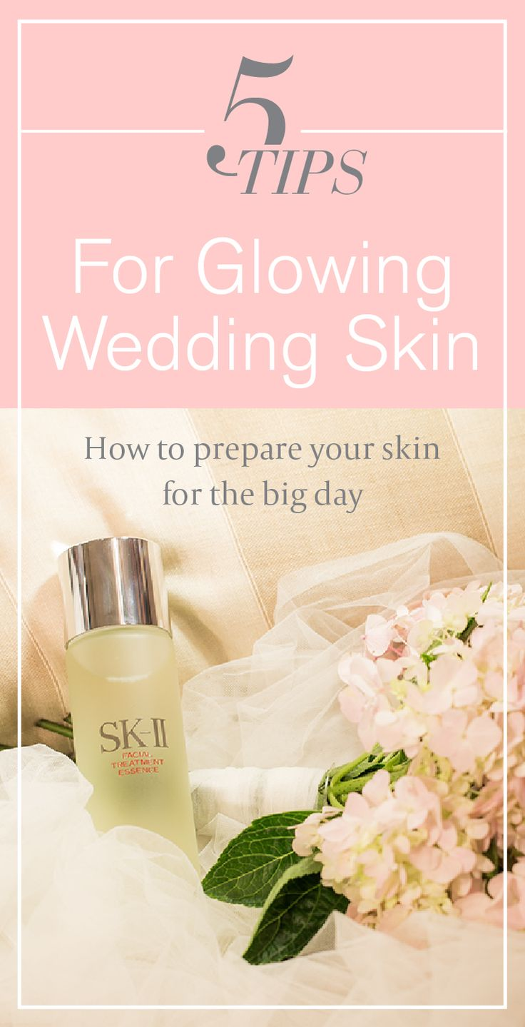 Whether you are a bride, bridesmaid, or a wedding guest, the right skincare routine can help reveal your naturally glowing skin. Read these tips from beauty bloggers for advice on prepping for the big day, and on choosing the right SK-II products to ensure flawless results. The perfect routine for getting the healthy, beautiful skin you want is only a click away!  http://www.sk-ii.com/luxury-skin-care-tips/wedding-skin-care-tips.html?cm_mmc=Pinterest-_-Epop2016-_-Campaign-_-FTEMask