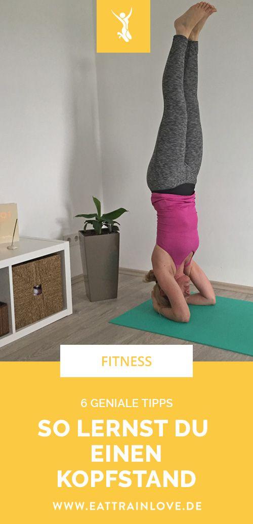 Kopfstand lernen: 6 geniale Tipps, wie ihr den Kopfstand im Yoga lernt