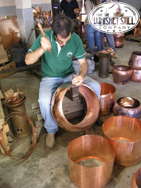 There are a good number of reasons why copper is preferably used to construct #WhiskeyStills. One, because of its excellent anti-corrosive properties which can defy and hold out harsh and changing weather conditions especially when distilling outdoors.