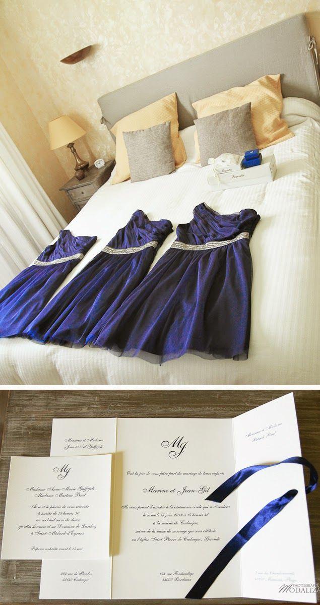 Trendy Wedding, blog idées et inspirations mariage ♥ French Wedding Blog: {Marine ❤ Jean-Gil} Un mariage marine et blanc