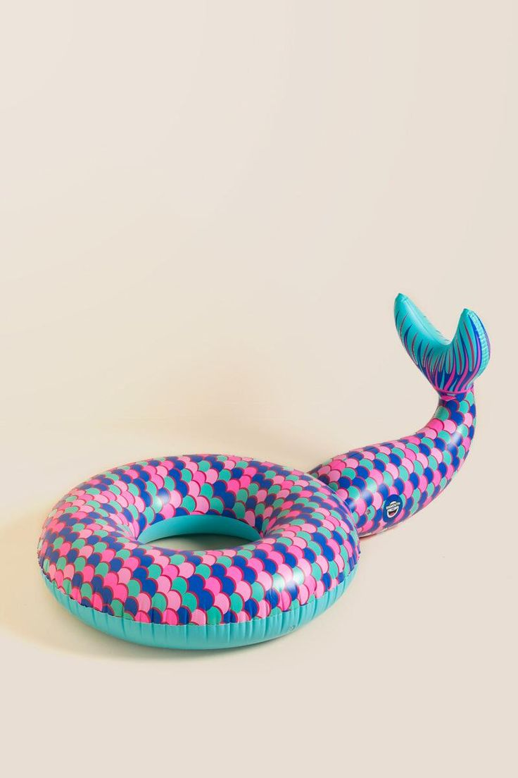 This mermaid pool float from Francesca's is just the cutest thing ever | http://www.hercampus.com/school/scsu/3-affordable-pool-side-must-haves