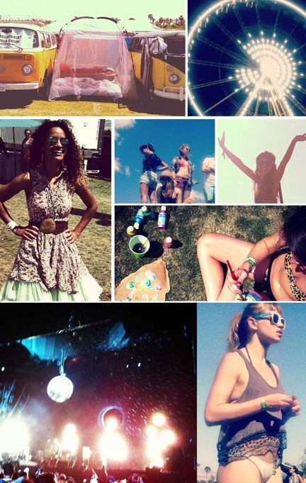 A peek at what our #Coachella guest bloggers saw on Weekend #1