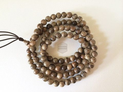 Indonesia Agarwood Mala 108 beads 7mm – Grandawood- Agarwood Australia