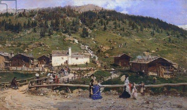 Αγία Αικατερίνη σε Valfurva στη Λομβαρδία