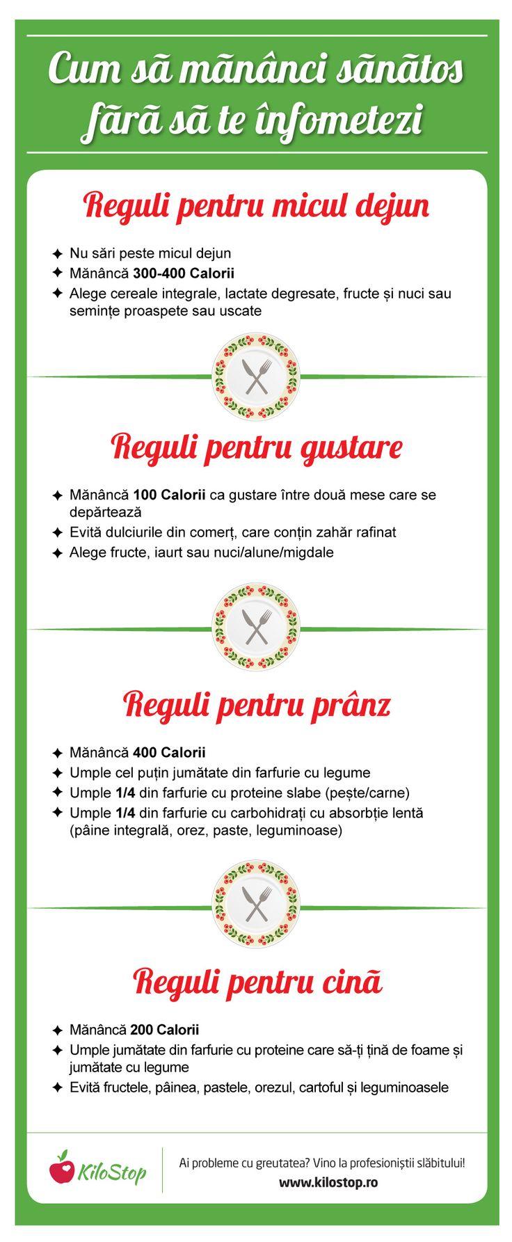 Crezi că singura soluție ca să slăbești este să te înfometezi? Iată cele mai importante reguli pe care ar trebui să le respecți atunci când ești la dietă. #dieta #reguli #slabit