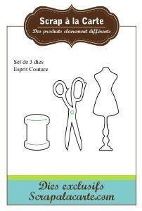 Set 3 Dies Esprit Couture