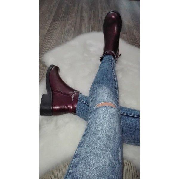 Kotníkové topánky s prackou
